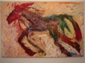 Barbaro the horse, painting  sold 2007